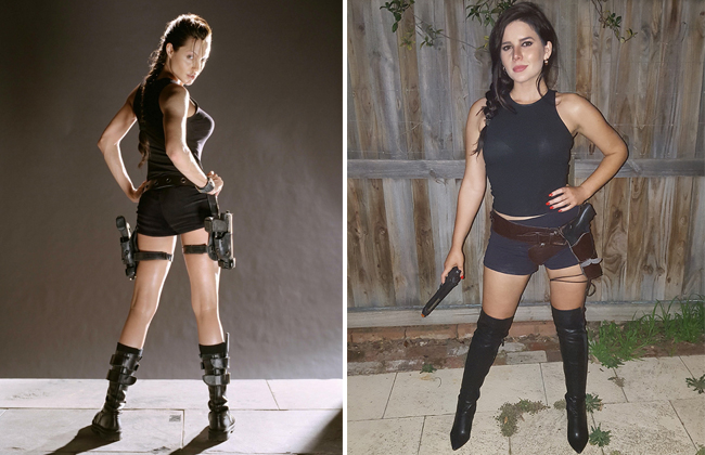 Lara Croft Tomb Raider Cosplay Perth Girl