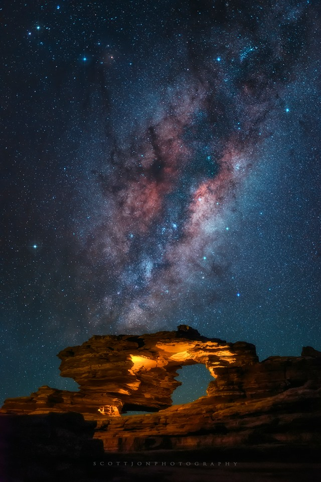 Stargazing in Western Australia-Kalbarri-Nature-Window