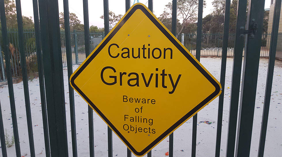 Gravity-Sign-