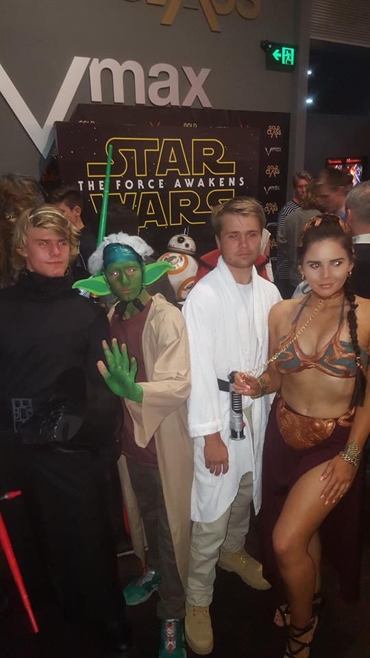 guys1  sc 1 st  Perth Girl & Star Wars Cosplay: Princess Leia at The Force Awakens Premiere