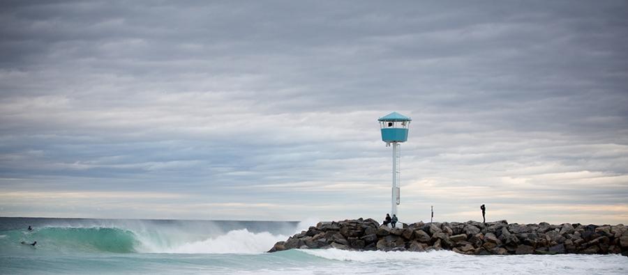 Surfing in Western Australia: City Beach