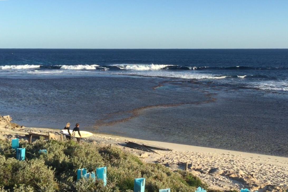 Surfing in Western Australia: Rottnest Island